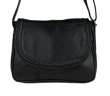 22x19 cm Sac bandoulière femme pour Street Bag Schwarz Noir 0wq8vv c0c02e1849d