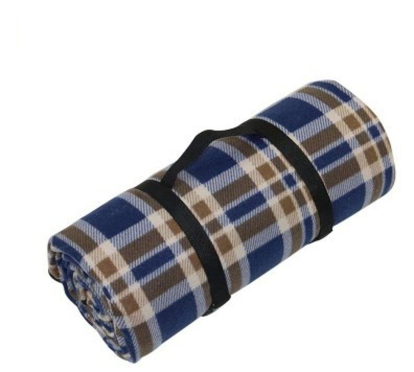Outdoor Dicker Tragbar Wasserdicht Wildleder Feuchtigkeit Picknickdecke Camping Decken 200 * 180cm