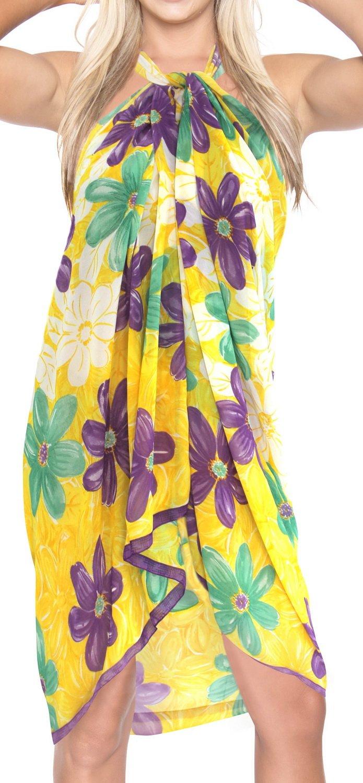 La Leela SWIMWEAR レディース B0191JS0DE Yellow