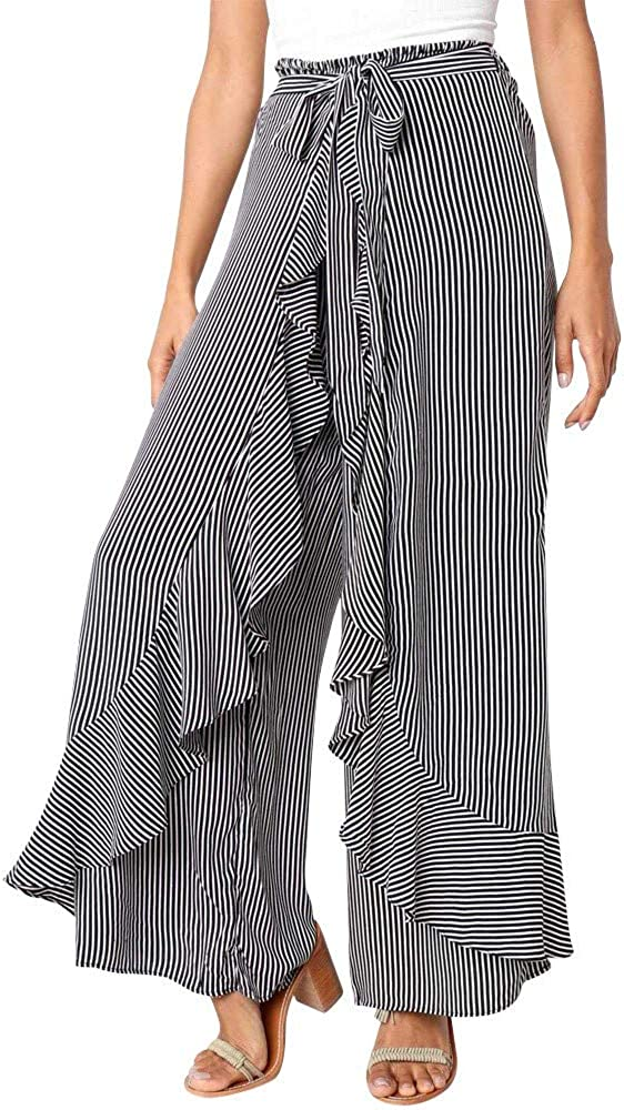 Women's Wide Leg Pants...