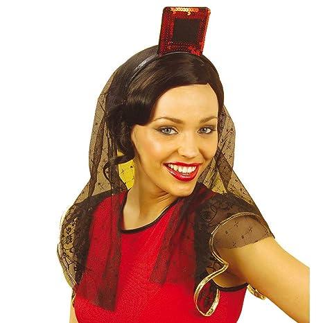 Net Toys Accessoire Pour Cheveux Espagnol Flamenco Coiffe Paillettes