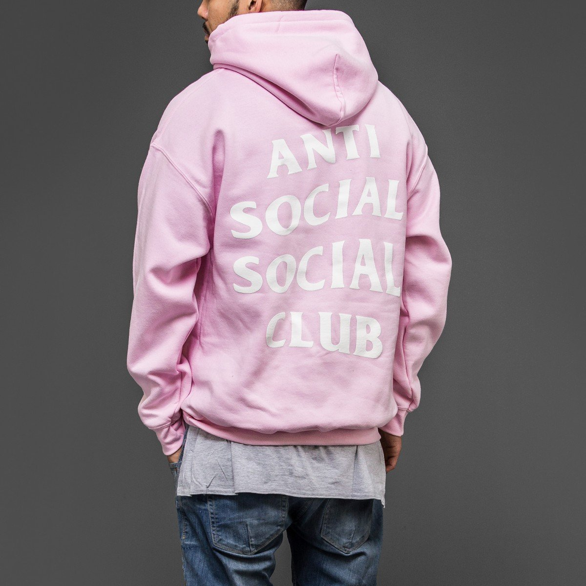 ecf40b14e8b6 Kardiance Pink Anti Social Social Club ASSC Hoodie Hoody  Amazon.co.uk   Clothing