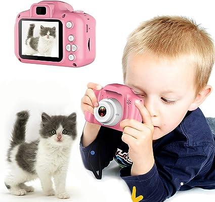 Amazon.com: ELVASEN - Cámaras digitales para niños y niñas ...