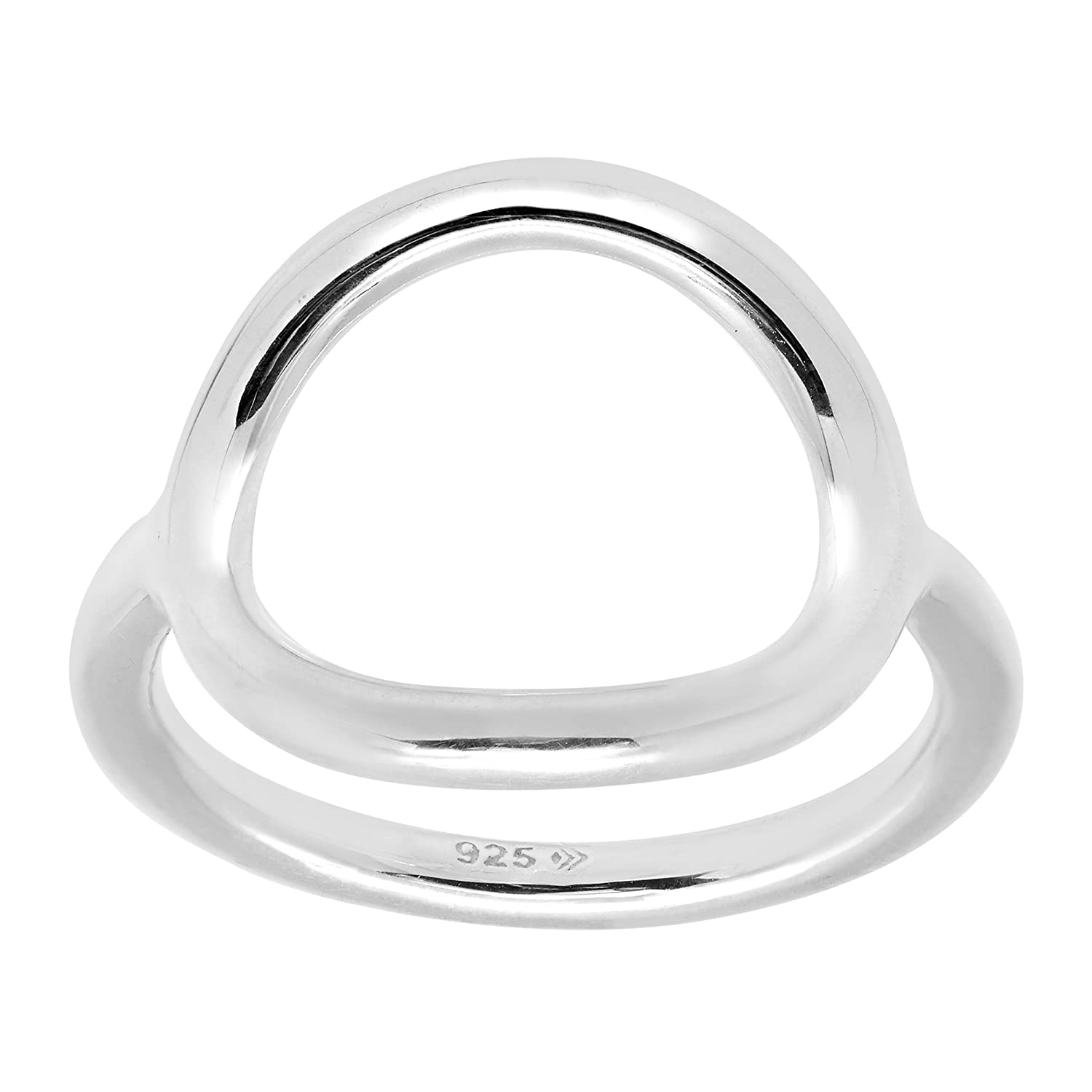 Silpada 'Karma' Open Circle Ring in Sterling Silver Richline Group R2932P