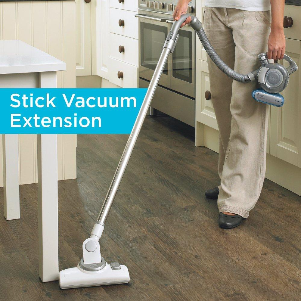 BLACK+DECKER BDH1620FLFH MAX Lithium Flex Vacuum with Stick Vacuum Floor Head, 16-volt - Cordless