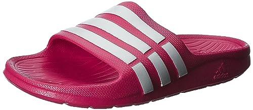 sports shoes 76b24 4205a adidas Duramo Slide K, Chanclas para Niños Amazon.es Zapatos y  complementos