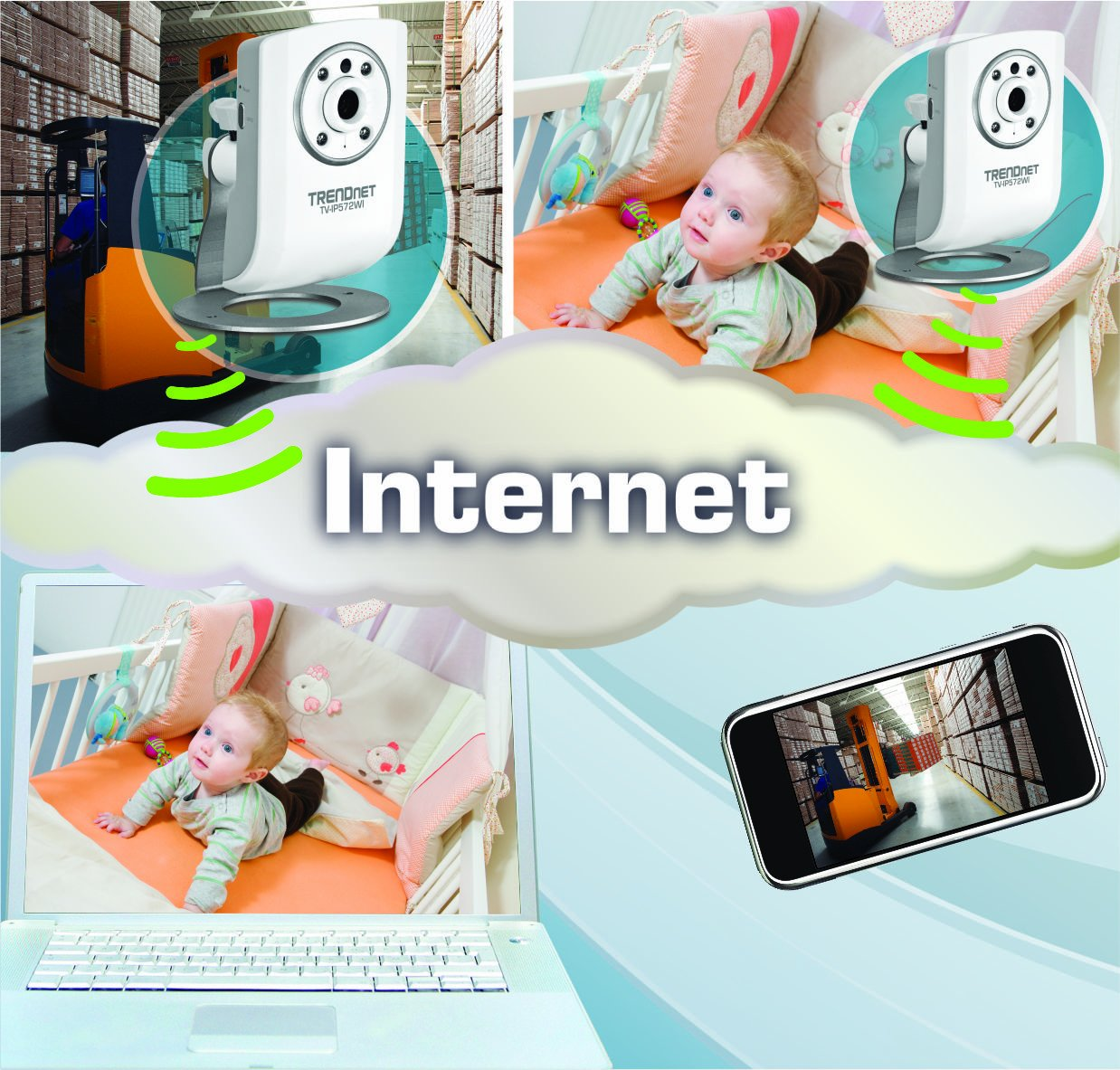 Amazon.com : TRENDnet Megapixel Wireless N Network Surveillance