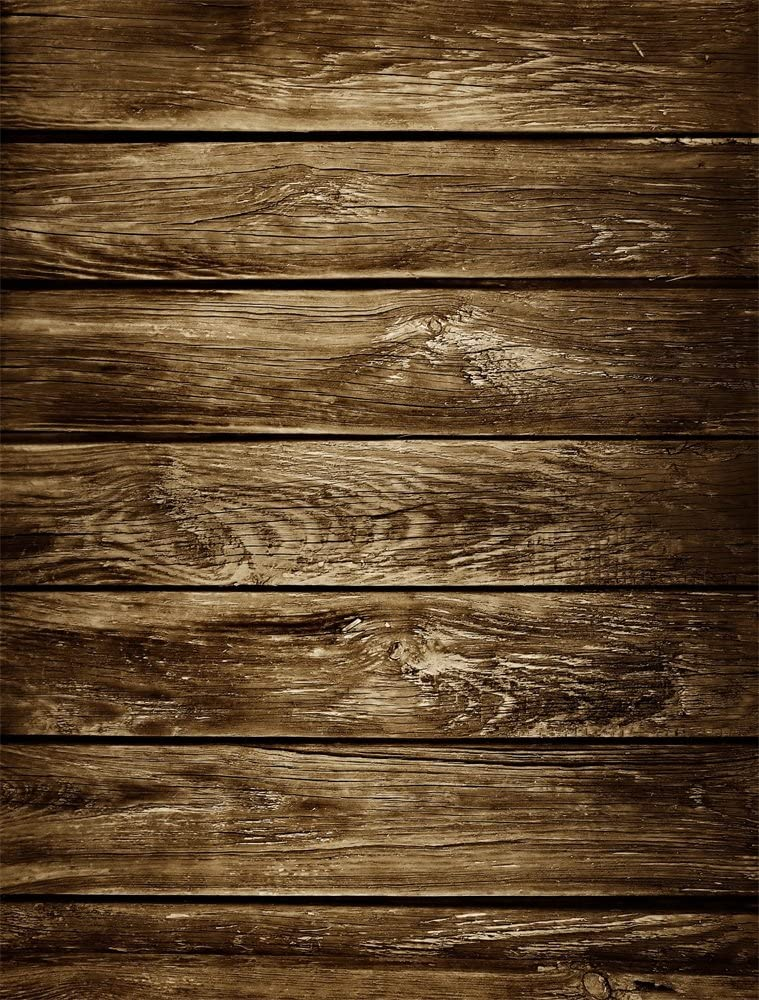 AOFOTO 5x3ft Wood Texture Board Backdrop Wooden Plank Photography Background for Pictures Portrait Shooting Video Display TV Film Production Vinyl Photo Studio Backcloth Screen