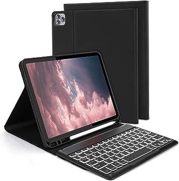Jelly Comb Jelly Comb Funda con teclado para iPad Pro 11 Negro