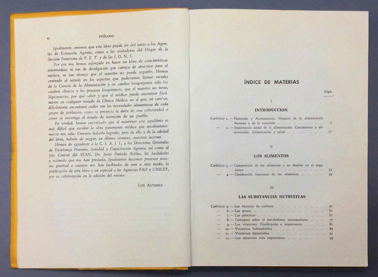 Alimentación y Nutrición: Amazon.es: Dr. Francisco Vivanco Bergamín y Dr. Juan Manuel Palacios Mateos: Libros