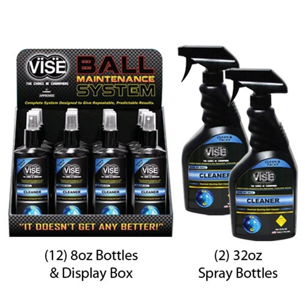 Vise Grips Bowling Ball Cleaner Kit by Vise Bowling Grips