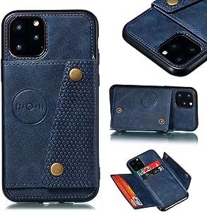 Funda para Samsung Galaxy S20 Plus Funda Libro, Cartera Estuche Antigolpes Golpes de Cuero con Libro de Cuero Flip Case, Carcasa PU Leather con TPU Silicona Case Interna Suave Cierre Magnético azul: