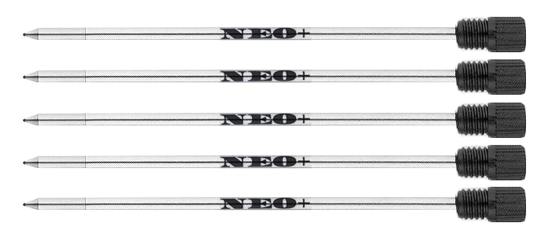 10 X Refills Ballpoint Black Ink for Swarovski Element Crystal Pen OfficeCentre Mont Blanc