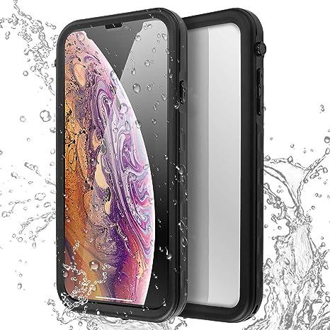 AICase Carcasa Impermeable para iPhone XS MAX, a Prueba de ...