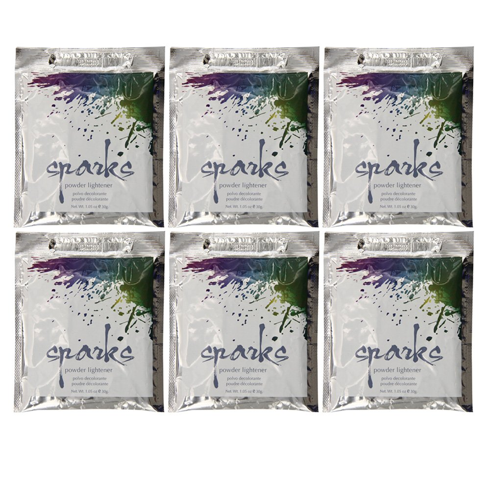 Amazon.com : Sparks Powder Lightener 1.5 Oz (Pack of 6) : Beauty