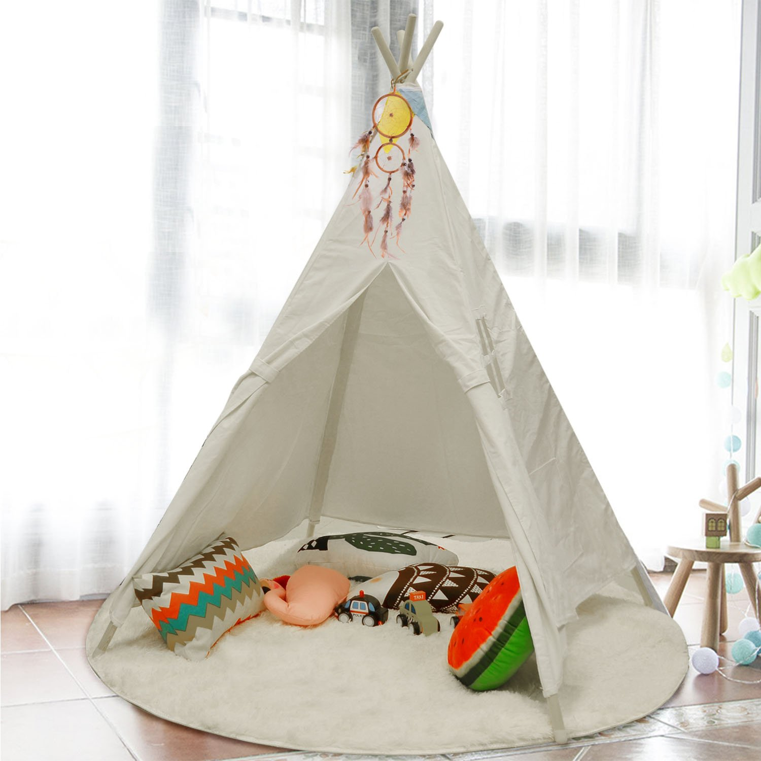 Amazoncom Mland Teepee Play Tent Playhouse For Birthday Gifts Party