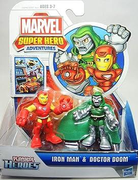 Playskool heroes spiderman pack 2 figuras: Amazon.es: Juguetes y ...
