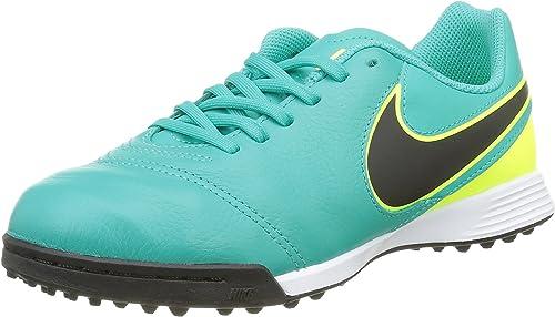 Están familiarizados chatarra Levántate  Nike Unisex Kid's Jr Tiempo Legend Vi Tf Football Boots: Amazon.co.uk:  Shoes & Bags