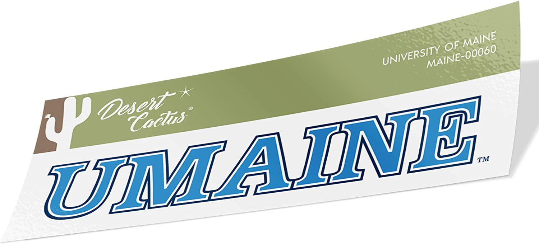University of Maine UMaine Black Bears NCAA Vinyl Decal Laptop Water Bottle Car Scrapbook (Sticker - 00060)