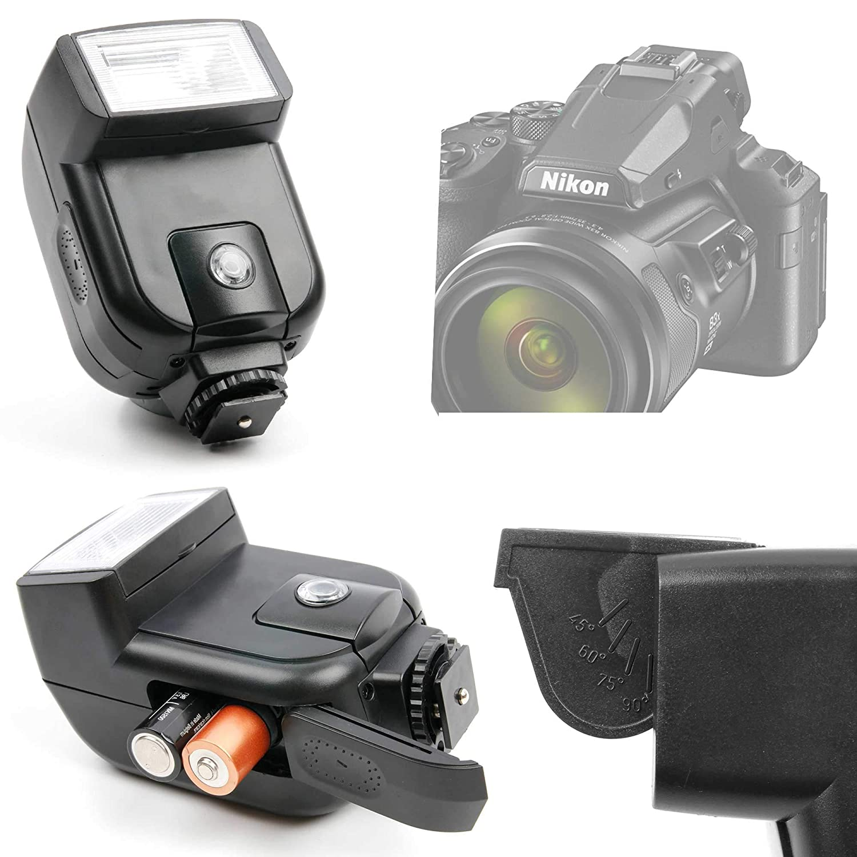 DURAGADGET Flash Compatible con Cámara Nikon Coolpix P950, Nikon ...