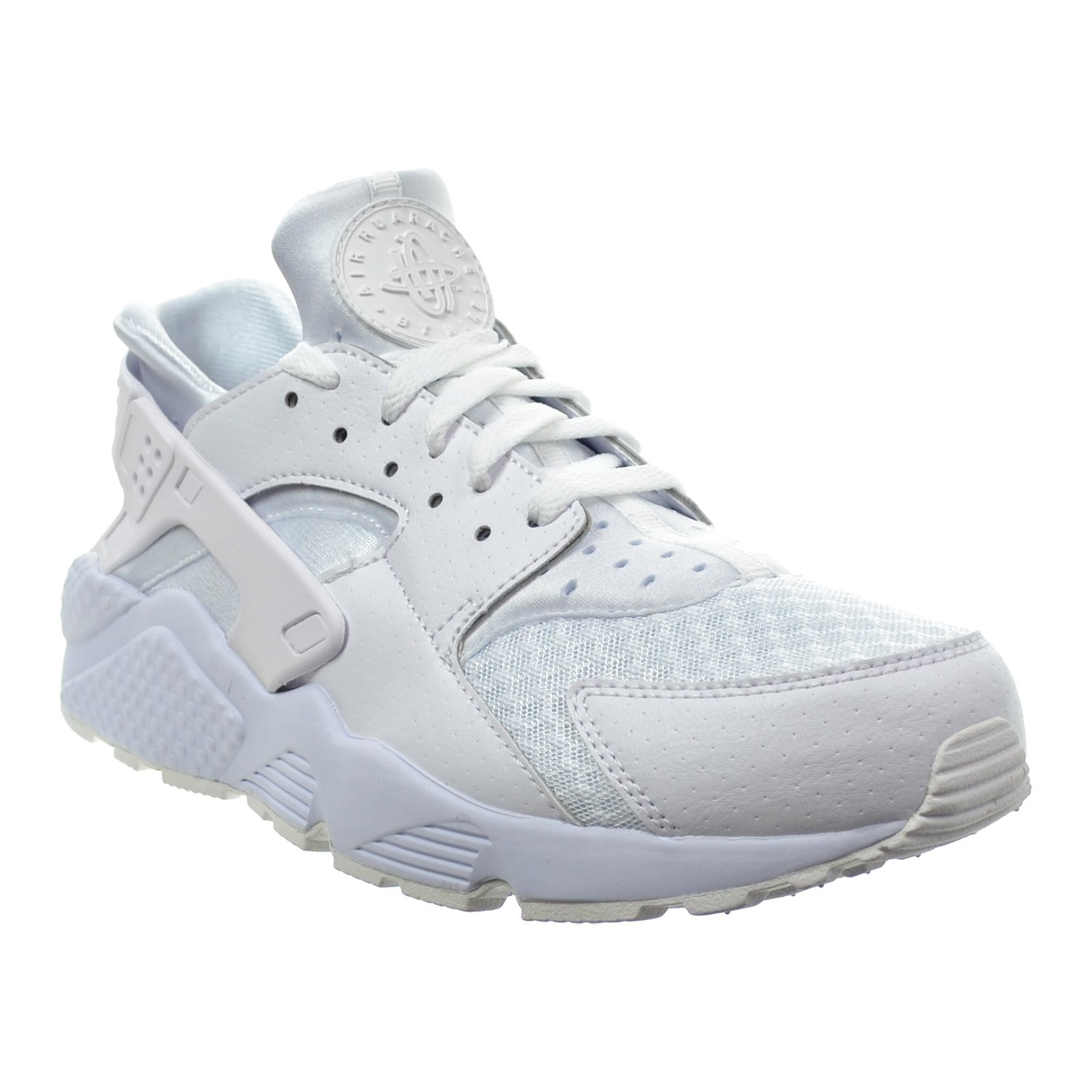low priced 3b3cc aed1a Amazon.com   NIKE Air Huarache Men s Shoes White Pure Platinum White 318429- 111 (12 D(M) US)   Road Running