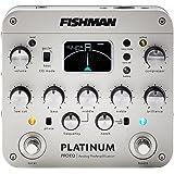 Fishman PRO-PLT-201 Platinum Pro EQ/DI Analog Preamp w/Bonus Deluxe Fishman 9V Power Supply 605609152466