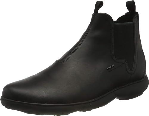 disculpa Reciclar Creyente  Geox Men's U Nebula a Chelsea Boots: Amazon.co.uk: Shoes & Bags