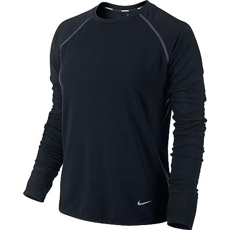 bdc6582452a0 Amazon.com  Nike Women s Dri-FIT Sprint Crew Running Shirt