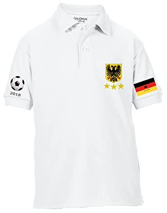 da1bb91cf21 Productsave Germany World Cup 2018 Polo Shirt  Amazon.co.uk  Clothing