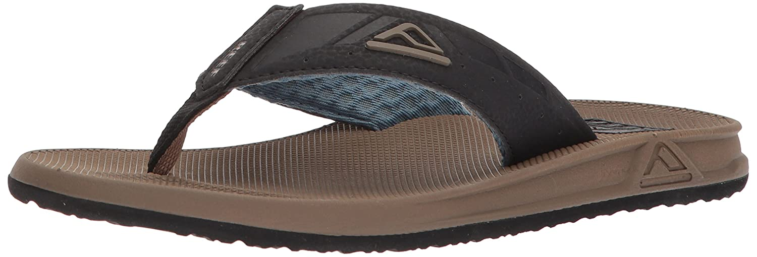 TALLA 40 EU. Reef Phantoms Brown/Bla/Bl, Chanclas para Hombre