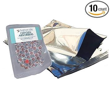 Amazon.com: PackFreshUSA - Bolsas de Mylar originales de un ...