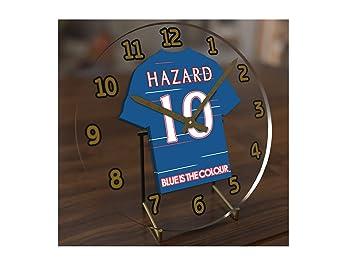 FanPlastic Eden Hazard - Chelsea FC Football Reloj DE Mesa ...