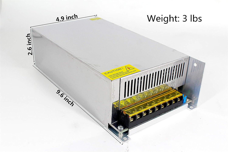 "12 AMP Peak Current 19/"" W ICT Communicaitons Power Supply 48 VDC Output"