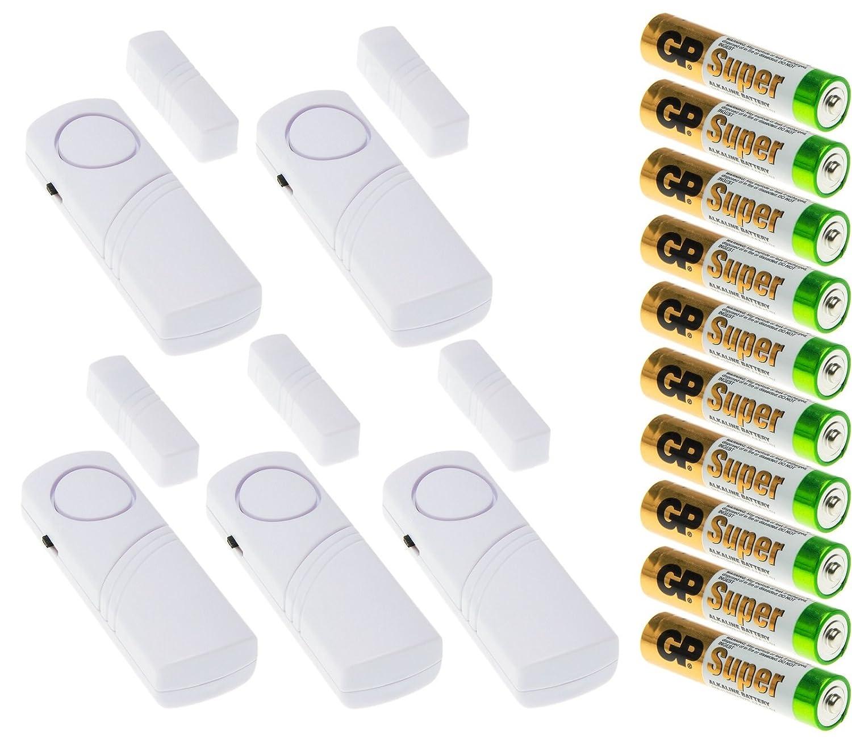 Adapter-Universe Alarma para puertas y ventanas, incluye ...