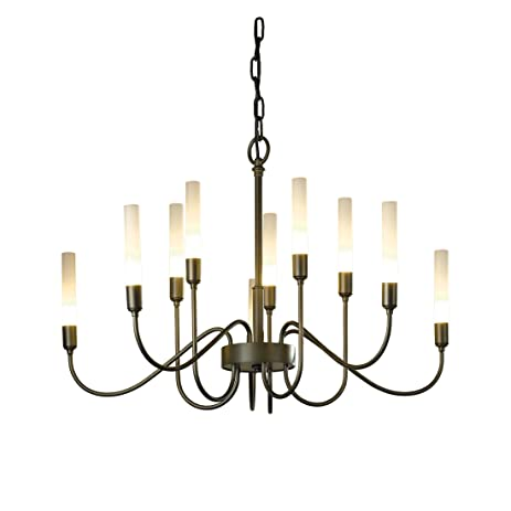 Hubbardton forge 106030 10 no lisse 10 arm chandelier black finish hubbardton forge 106030 10 no lisse 10 arm chandelier black finish aloadofball Image collections