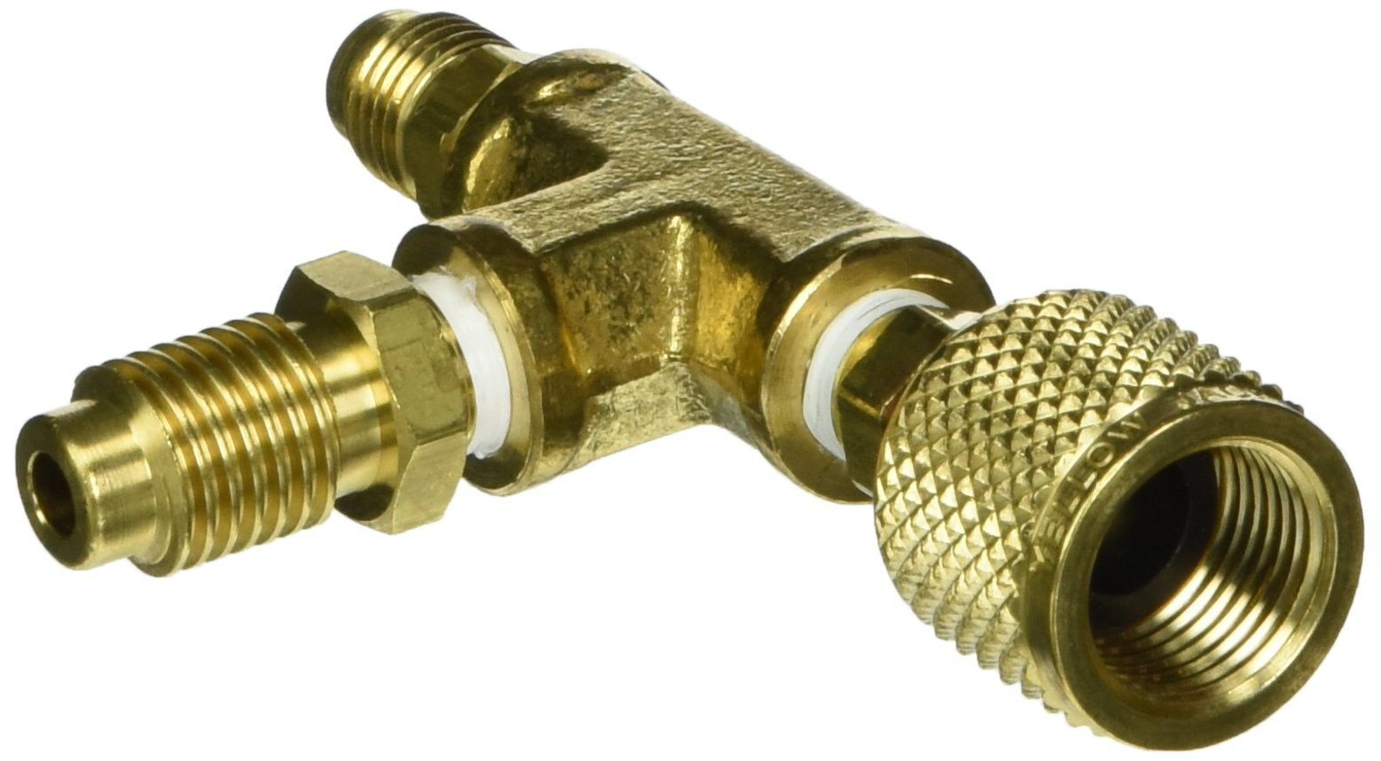 Yellow Jacket 36019 3/8'' Pump Adapter with 1/4'' Flare And 1/2'' Acme Male Fittings