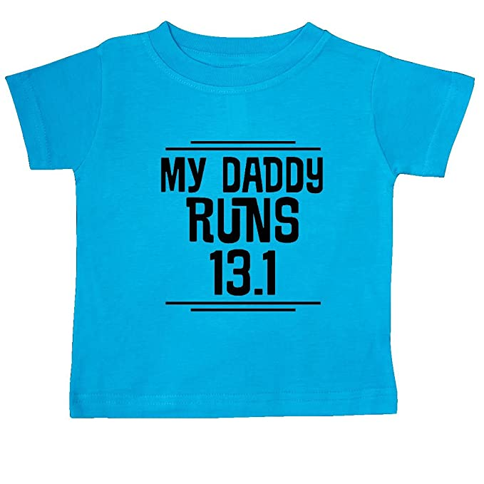 3bfd02251687b Amazon.com: inktastic My Daddy Runs Half Marathon Baby T-Shirt: Clothing