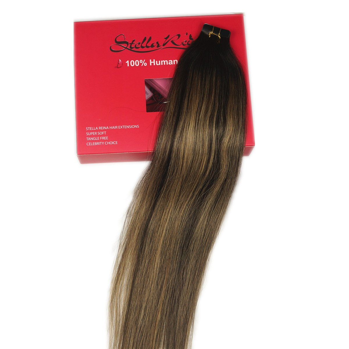 Amazon Stella Reina Pu Skin Weft Tape In Hair Extensions 100g
