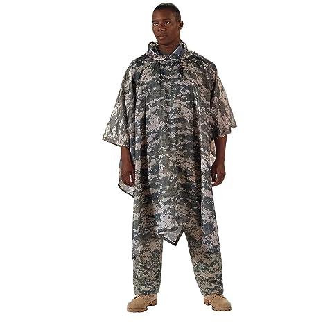 Amazon.com  Rothco G.I. Type Military Rip-Stop Poncho 6a2b5a5ae9914