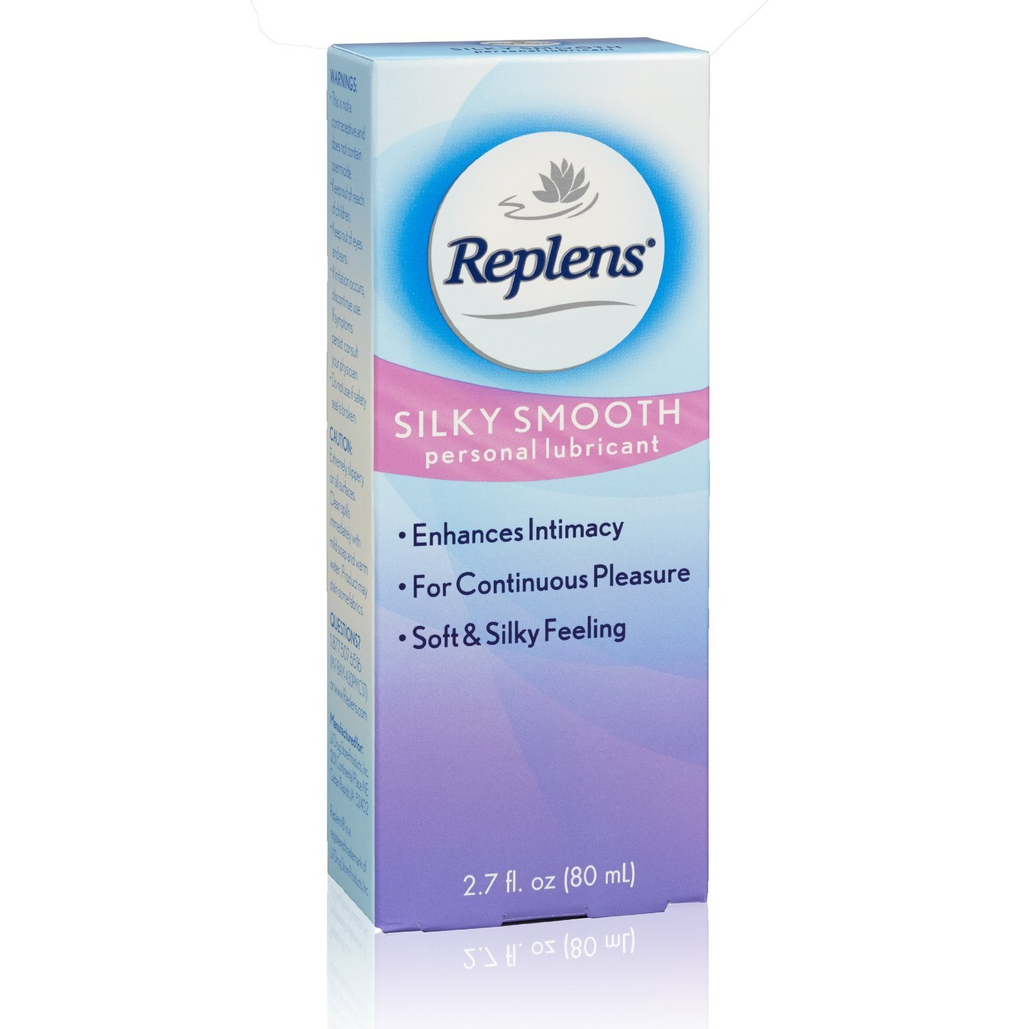 Replens Silky Smooth Personal Lubricant, 2.7 Ounce (Pack of 2)