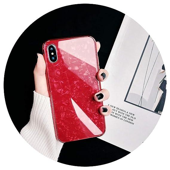 Amazon.com: Phone Case for Apple iPhone 7 8 Plus X 6s 6 Plus Luxury ...