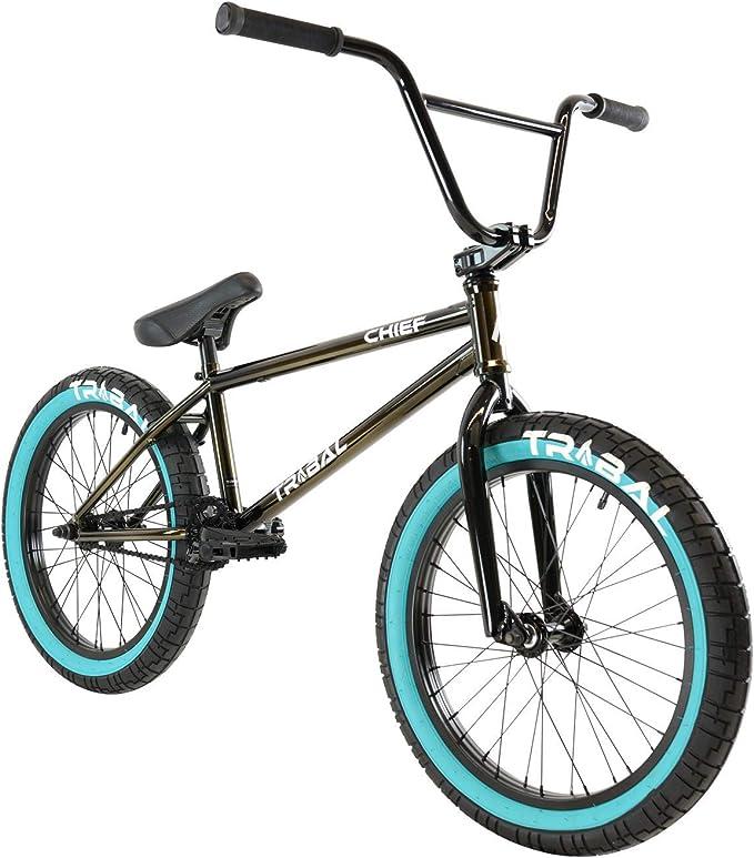 Tribal Chief Bicicleta BMX de color ahumado: Amazon.es: Deportes y ...