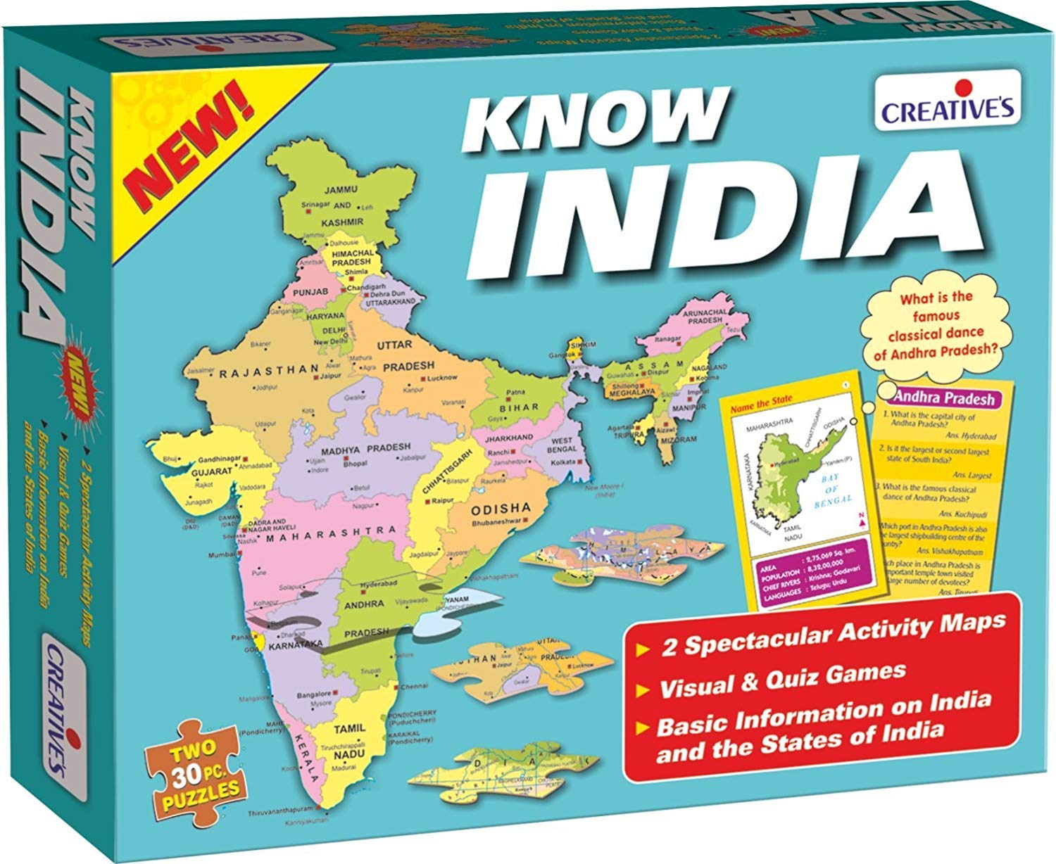 Buy creative educational aids p ltd know india online at low buy creative educational aids p ltd know india online at low prices in india amazon fandeluxe Gallery