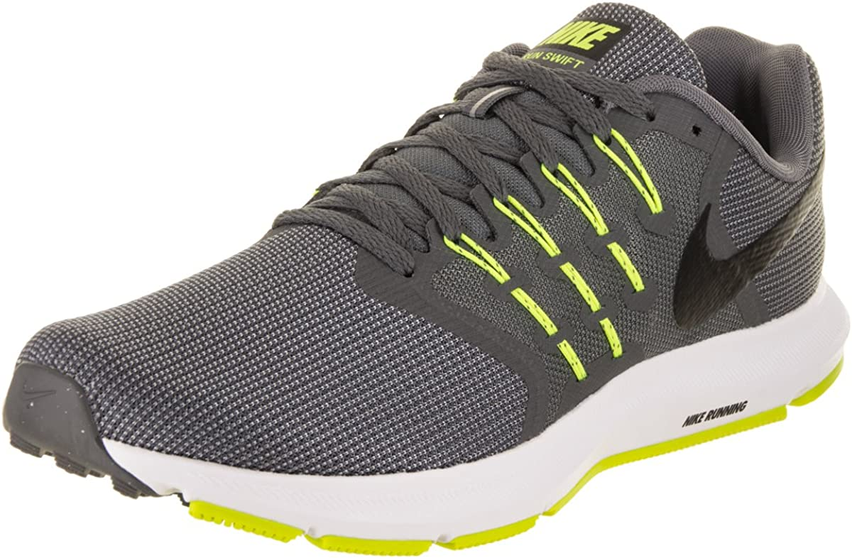 Nike Run Swift, Zapatillas de Entrenamiento para Hombre, Multicolor (Cool Grey/Black-Volt-White), 41 EU: Amazon.es: Zapatos y complementos