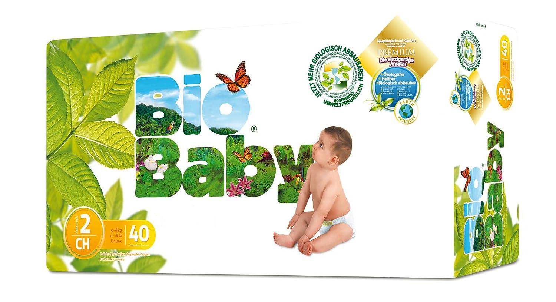 Moltex - BBPA2 - Pañales Moltex Bio Baby T2 (5-8 kg) 40 uds: Amazon.es: Salud y cuidado personal