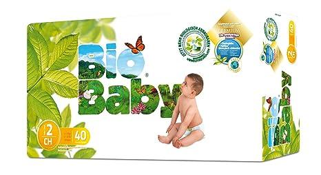 Moltex - BBPA2 - Pañales Moltex Bio Baby T2 (5-8 kg) 40