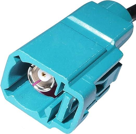 AERZETIX: Adaptador para Antena de autoradio FAKRA ISO Hembra C1411