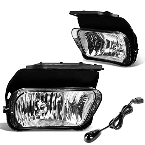 For Chevy Silverado Pair of Bumper Driving Fog Lights + Wiring Kit on