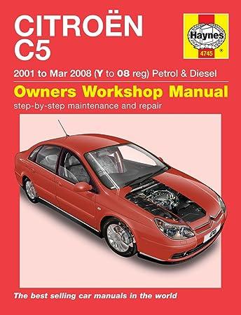 citroen c5 haynes repair manual haynes manual service manual rh amazon co uk 2017 Citroen C5 Interior 2004 Citroen C5 Interior