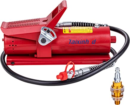 10,000 PSI Air Hydraulic Foot Pump Porta